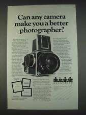 1982 Hasselblad Cameras Ad - Make Better Photographer