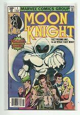 MARVEL (1980) MOON KNIGHT #1 1ST APPEARANCE BUSHMAN BILL SIENKIEWICZ - VF/NM