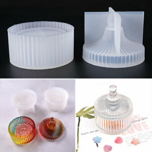 Silicone Jewellery Storage Box Mold Casting Mould Set DIY for Resin Epoxy Crafts