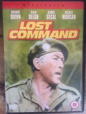 LOST COMMAND - Anthony Quinn - Alain Delon - Region 2 DVD 4dfdc149ce8