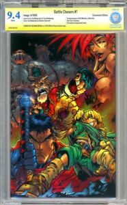Battle Chasers #1 Chromium Edition - signiert von Joe Madureira - CBCS 9.4