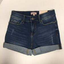 Junior/Juicy Couture Stretch Jean Shorts - Size 2/Roll Up/Lightly Distressed/NWT