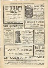 Stampa antica pubblicità SCALDABAGNO A GAS INVICTA ecc. 1893 Old antique print