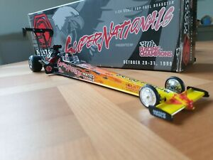 NHRA Dragster 1/24 Racing Champions Matco Tools Super Nationals 1999 Used