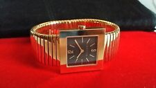 Authentic BVLGARI Tubogas 18K Gold watch retail $20K