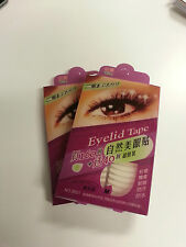 2x pack of 200 pieces double eyelid tape - Arched - Clear (Size MEDIUM)