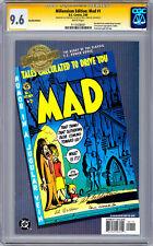 MAD #1 CGC-SS 9.6 SIGNED LEGENDS FELDSTEIN JAFFE & COKER MILLENNIUM ED REP 2000
