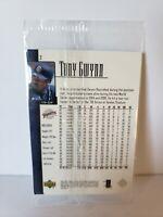 2001 Upper Deck Tony Gwynn Dear Fan 3 Card Set 20 Year Celebration Sealed Pack