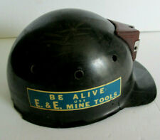 Vintage Miner's Hard Hat with Decals MSA Skullguard