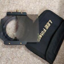 Lee Filter Holder 100mm Plus 77mm Adapter Ring Genuine