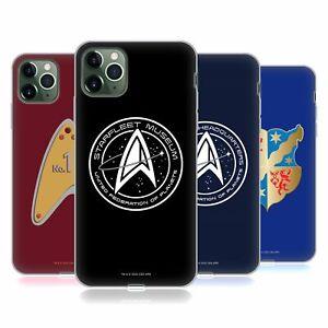 OFFICIAL STAR TREK PICARD BADGES SOFT GEL CASE FOR APPLE iPHONE PHONES