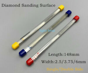 10Pcs Dental Metal Polishing Stick diamond sanding polish strip Single/Double