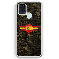 Espana Spanien Camouflage Hülle für Samsung Galaxy A21s Motiv Design Militär ...