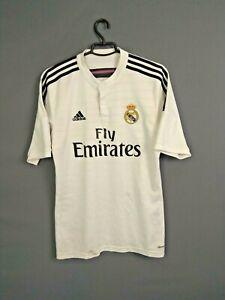 Real Madrid Jersey 2014 2015 Home M Shirt Camiseta Football Adidas F50637 ig93