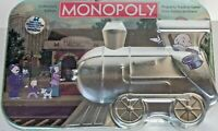 NEW~Monopoly~Train Tin Collectors Edition~Hasbro 2003~Board Game Factory Sealed