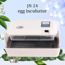 JANOEL 24 Egg Incubator Automatic Digital LED Turning Chicken Duck Quail Poultry