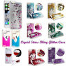 Liquid Glitter Water Sparkly Floating Stars Bling Case Cover For Samsung Apple