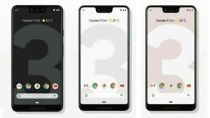 Google Pixel 3 Pixel 3 XL 64GB 128GB Factory Unlocked Verizon T-Mobile Sprint