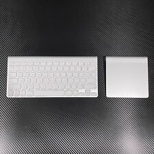 Apple Bluetooth Wireless Keyboard A1314 and Bluetooth Wireless Trackpad A1339