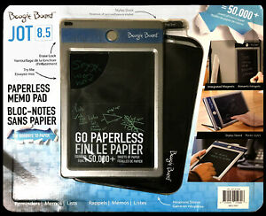 """Boogie Board 8.5"""" Jot LCD eWriter Tablet Bundle w/ Protective Sleeve and Stylus"""