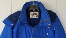 "Women's Blue The North Face Gore-Tex Jacket Coat Size Small USA Hood Zip ""A"""
