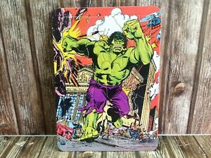 THE INCREDIBLE HULK 1978 MARVEL COMICS VINTAGE COMPLETE JIGSAW PUZZLE
