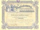 La Montananesa Zaragoza SA, accion, Zaragoza, 1929