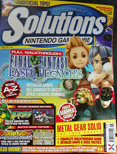 CUBE SOLUTIONS INC FINAL FANTASYS CRYSTAL CHRONICLS - METAL GEAR SOLID & MORE