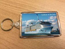 Royal Caribbean ANTHEM OF THE SEAS Large Key Ring Cruise Ship Southampton d