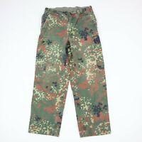 German Military Flecktarn Camo Cargo Pants Mens 30 x 28