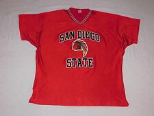 San Diego State Aztecs Vintage Authentic Basketball Shooting Shirt XXL FLAWLESS!