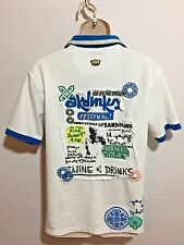 Woman's / Men's Rare Festival Shirt Akademiks (L) Hand Embroidered One Of A Kind