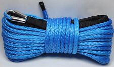 "1/4"" x 50' Synthetic Winch Rope Line Cable 8200 LB Capacity ATV UTV W/Sheath"