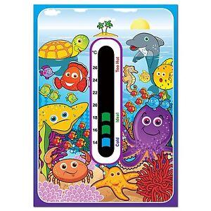 Baby Safe Ideas Marine Nursery Room Thermometer - Easy Read