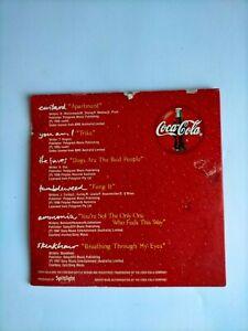 COCA COLA SAMPLER - VARIOUS (CARDSLEEVE CD) (1997) CUSTARD, SKUNKHOUR, AMMONIA