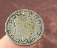 1912 LIBERTY V NICKEL. NICE COLLECTOR COIN FOR YOUR COLLECTION.