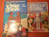 """2 Bände """" Artige Zeiten """"  Band 1 + 5  Reprodukt Comics Independent"""