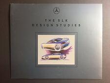 1994 Mercedes Benz SLK Design Showroom Advertising Sales Folder RARE!! Awesome