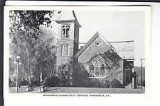 Woolrich Community Church Woolrich  PA  Penn