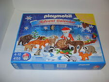 PLAYMOBIL 4155 ADVENT CALENDER SET/ SEALED/ RETIRED