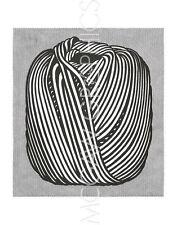 """LICHTENSTEIN ROY - BALL OF TWINE, 1963 - Artwork Reproduction 14"""" x 11"""" (604)"""