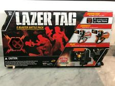 Nerf Lazer Laser Tag 2 Blaster Battle Pack Solo Team Multi Player iPhone New