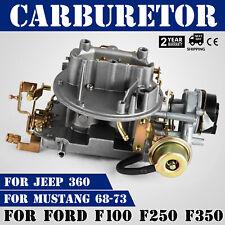 Pop Carburetor A800 2100 2-Barrel Fits Ford F100 F250 F350 CU Jeep Top1