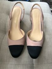 Ivanka Trump Women's Liah 4 Textile Medium Pink Ankle-High Satin Pumps SZ 6.5M