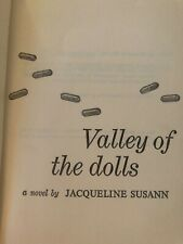 Book- classic - Valley of the Dolls 1966 - Jacqueline Susanne