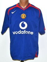 MANCHESTER UNITED 2005/2006 AWAY FOOTBALL SHIRT JERSEY NIKE SIZE M ADULT
