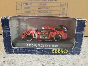 EBBRO TRENDIES - TOYOTA SUPRA ESSO ULTRON JGTC 2000 [RED] VHTF CAR MINT BOX OK
