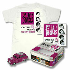 The Beatles CAN'T BUY ME LOVE collectable TIN, TAXI & T-SHIRT  NRFB   Limited Ed