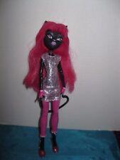 Monster high doll scaremester catty noir