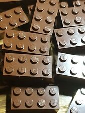 50 x Lego Brown bricks 2x4 Harry Potter